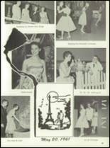 1961 Homer High School Yearbook Page 48 & 49