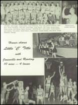1961 Homer High School Yearbook Page 54 & 55