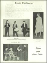 1961 Homer High School Yearbook Page 92 & 93