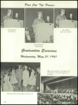 1961 Homer High School Yearbook Page 100 & 101