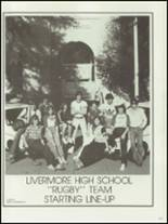 1981 Livermore High School Yearbook Page 216 & 217