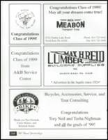 1999 North East High School Yearbook Page 164 & 165