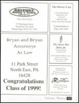 1999 North East High School Yearbook Page 166 & 167