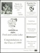 1999 North East High School Yearbook Page 176 & 177