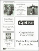 1999 North East High School Yearbook Page 186 & 187