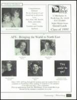 1999 North East High School Yearbook Page 220 & 221