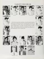 1988 Central Union High School Yearbook Page 188 & 189