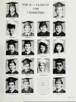 1988 Central Union High School Yearbook Page 256 & 257