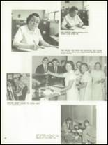 1962 Chanel High School Yearbook Page 34 & 35