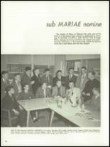 1962 Chanel High School Yearbook Page 36 & 37