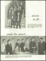 1962 Chanel High School Yearbook Page 60 & 61