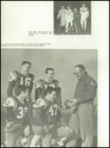 1962 Chanel High School Yearbook Page 112 & 113