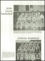 1962 Chanel High School Yearbook Page 126 & 127