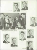 1962 Chanel High School Yearbook Page 154 & 155