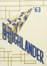 1963 Yearbook Highland High School
