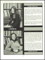 1973 Ft. Collins High School Yearbook Page 42 & 43