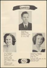 1952 Oilton High School Yearbook Page 20 & 21