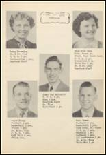 1952 Oilton High School Yearbook Page 26 & 27