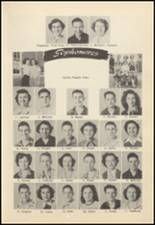 1952 Oilton High School Yearbook Page 32 & 33