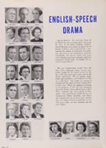 1950 New Trier High School Yearbook Page 16 & 17