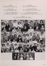 1950 New Trier High School Yearbook Page 42 & 43