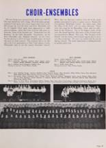 1950 New Trier High School Yearbook Page 50 & 51