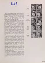 1950 New Trier High School Yearbook Page 86 & 87
