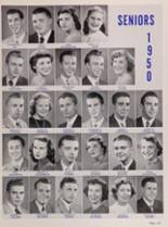 1950 New Trier High School Yearbook Page 124 & 125