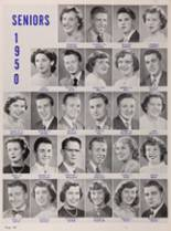 1950 New Trier High School Yearbook Page 126 & 127