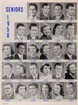 1950 New Trier High School Yearbook Page 128 & 129