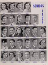 1950 New Trier High School Yearbook Page 130 & 131
