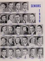 1950 New Trier High School Yearbook Page 132 & 133