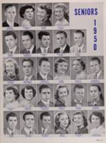 1950 New Trier High School Yearbook Page 134 & 135