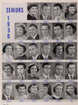 1950 New Trier High School Yearbook Page 138 & 139