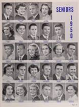 1950 New Trier High School Yearbook Page 140 & 141