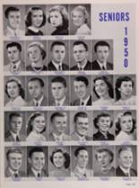 1950 New Trier High School Yearbook Page 142 & 143
