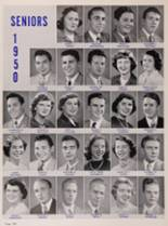 1950 New Trier High School Yearbook Page 144 & 145
