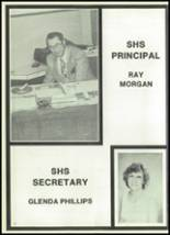 1981 Seagraves High School Yearbook Page 10 & 11