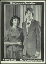 1981 Seagraves High School Yearbook Page 42 & 43