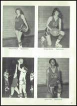 1981 Seagraves High School Yearbook Page 70 & 71