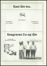1981 Seagraves High School Yearbook Page 152 & 153