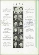 1939 Washington High School Yearbook Page 20 & 21
