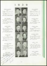 1939 Washington High School Yearbook Page 24 & 25