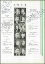 1939 Washington High School Yearbook Page 26 & 27