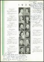 1939 Washington High School Yearbook Page 28 & 29