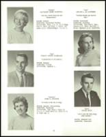 1960 Clarence High School Yearbook Page 36 & 37
