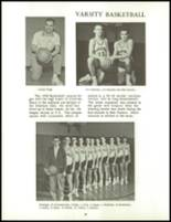1960 Clarence High School Yearbook Page 90 & 91