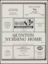 1989 Quinton High School Yearbook Page 104 & 105