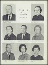 1963 Earle High School Yearbook Page 22 & 23