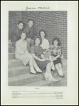 1963 Earle High School Yearbook Page 54 & 55